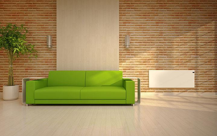 Adax Neo fehér színű barna nappali