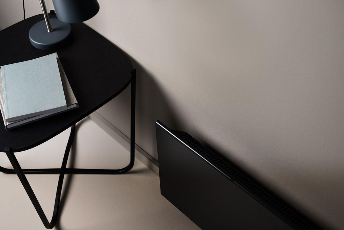 Adax Neo Wifi Gyöngyház fekete asztali lámpa felülnézet