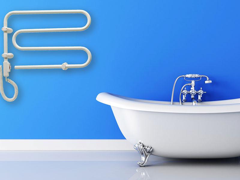 Adax HKT elektromos törölközőszárító  fürdőkáddal