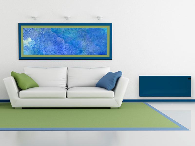 Adax Neo tengerkék szín szobabelső