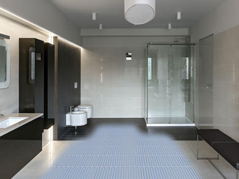 Elektra MD elektromos padlófűtés fürdőszoba