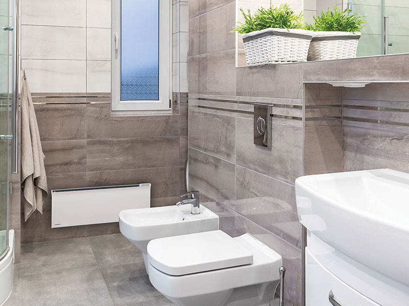 Glamox TPVD fürdőszoba