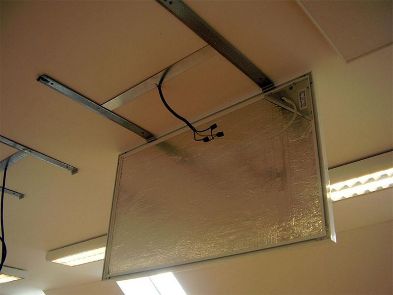 Infrapanel aluminium keretes 2