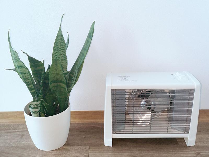 Adax ventilátoros hősugárzó virággal