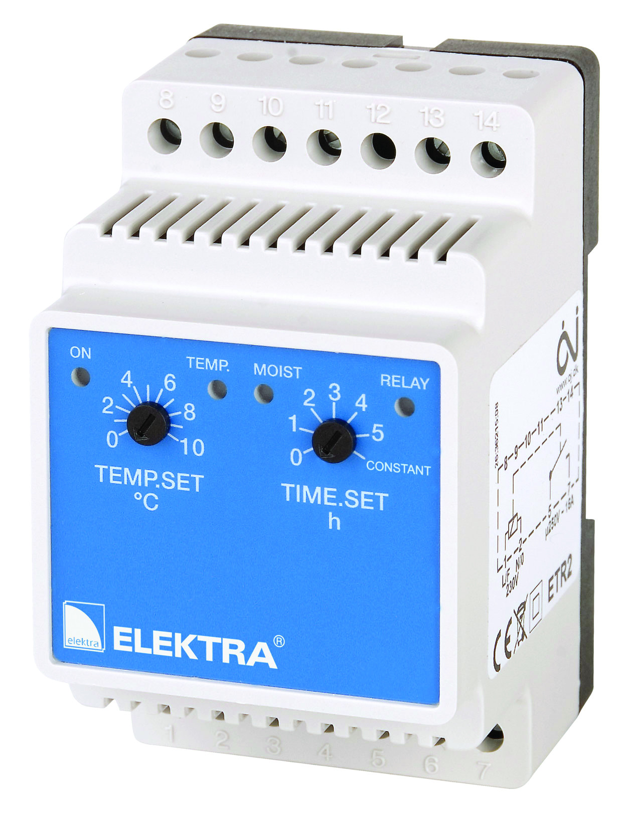 Kültéri termosztátok elektromos fagymentesítéshez